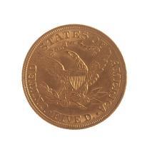 Lot 604: 1907 $5 Liberty Gold Half Eagle Unc Details