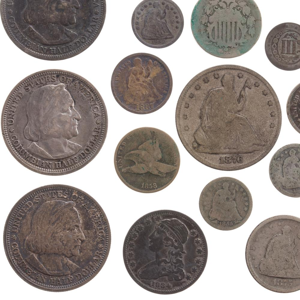 Lot 614: U.S Type Coin Collection
