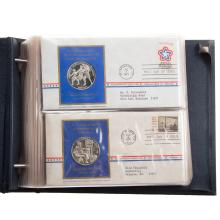 Lot 620: 1971-1972 Postmasters Medallic 1st Day Cover