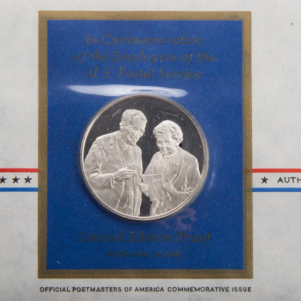 Lot 622: 3 Years of Postmasters Medallic First Day Covers