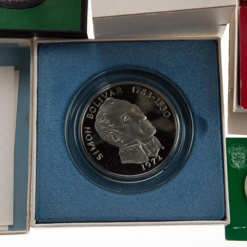 Lot 623: World Silver Proof Coins