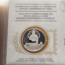 Lot 621: 1975-1977 Int. Society of Postmasters