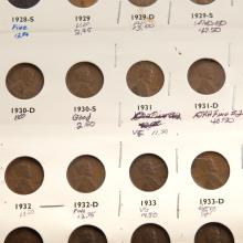 Lot 628: Very Nice Lincoln Cent Set