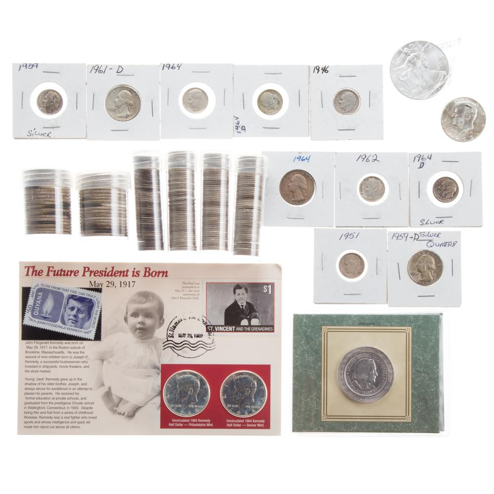 Lot 627: US Silver Coins