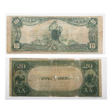Lot 629: Pair of Baltimore National Bank Notes