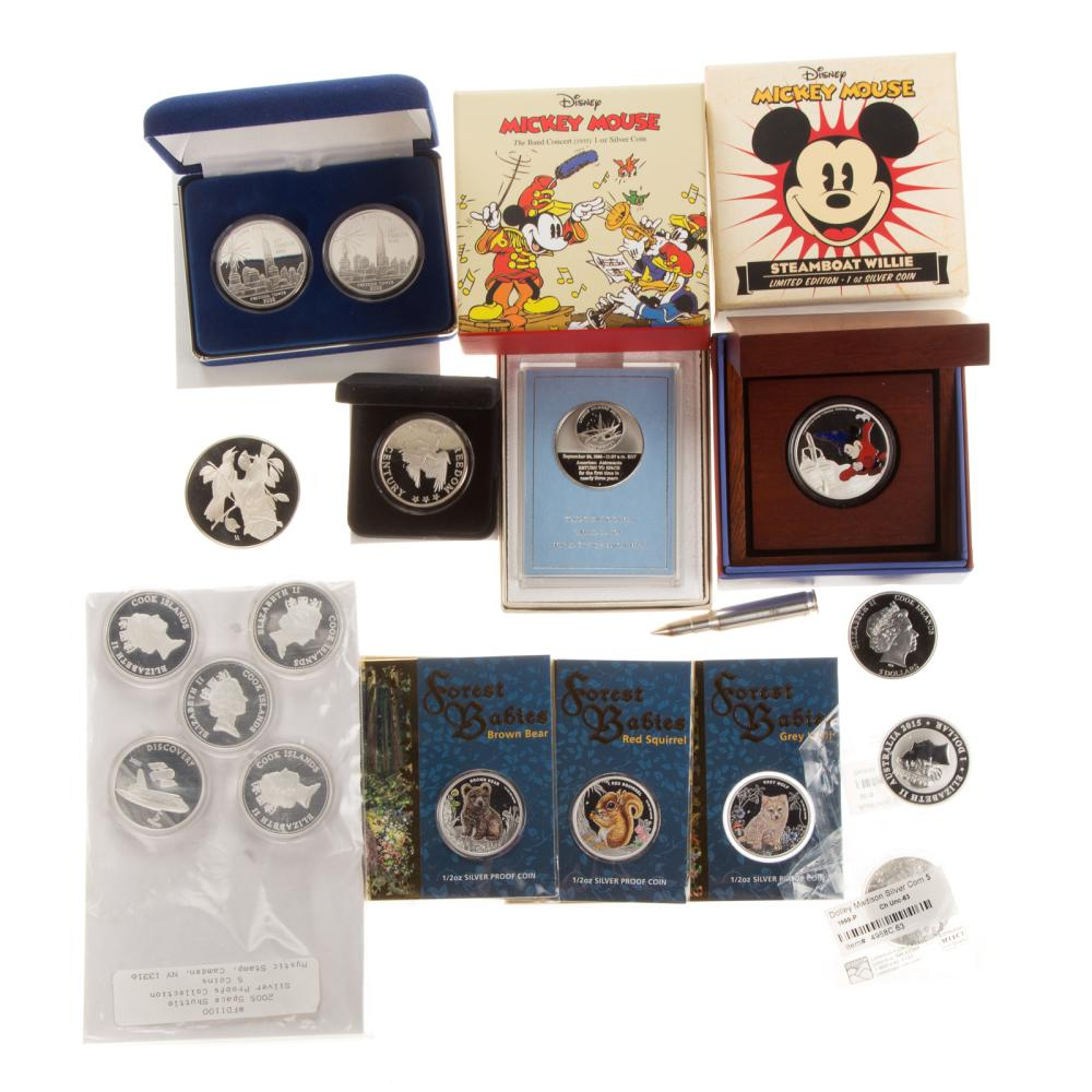 Lot 664: Silver Coins and Collectibles