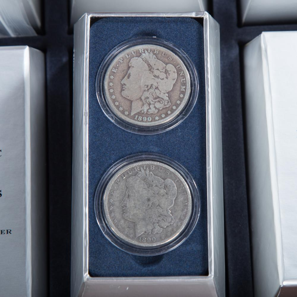 Lot 660: Historic US Silver Dollar Collection (32)