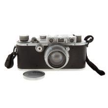 Lot 706: Leica III A Camera With Wetzlar Summar Lens
