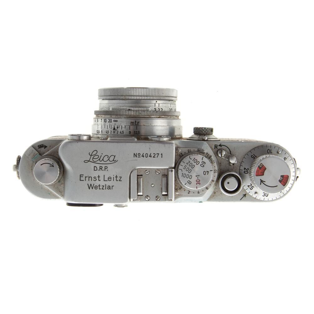 Lot 707: Leica III C Camera With Wetzlar Summitar Lens