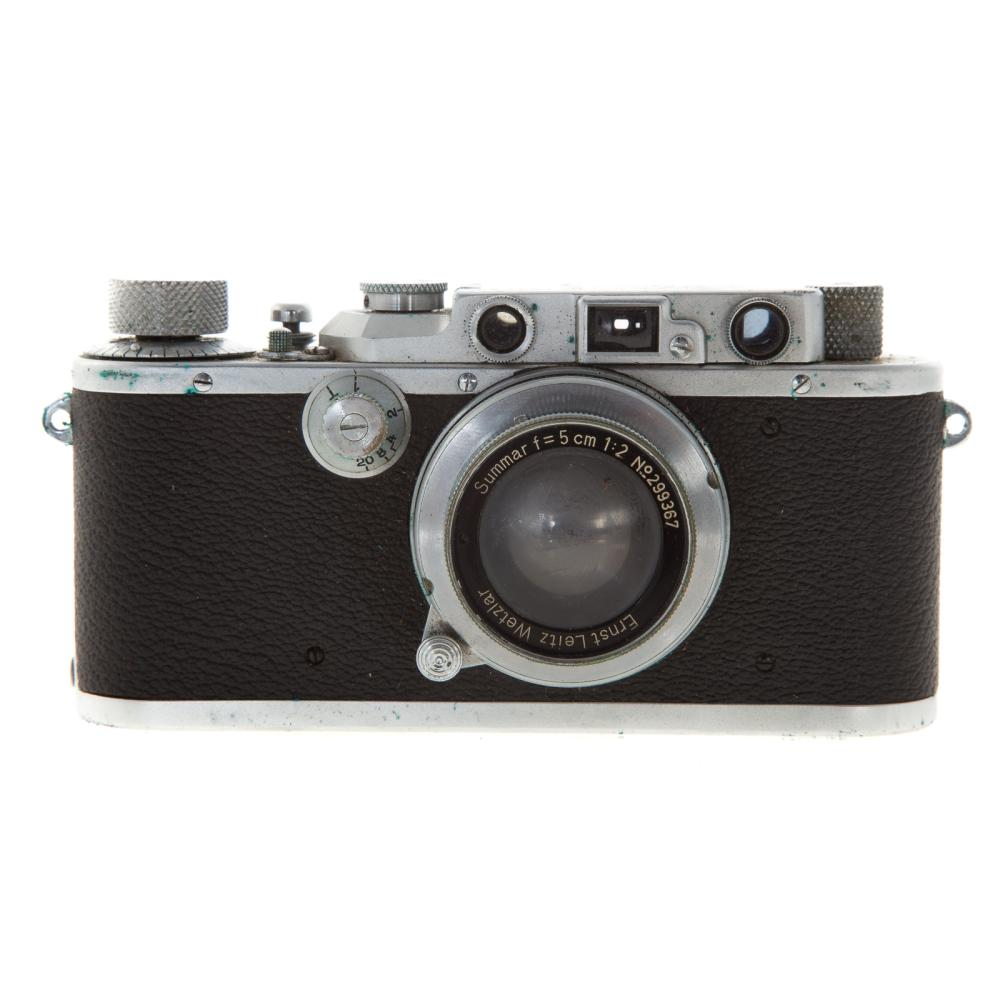 Lot 709: Leica III A Camera With Wetzlar Summar Lens