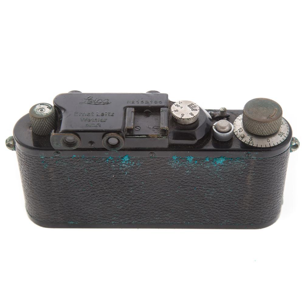 Lot 710: Leica III Chrom Camera With Leitz Hektor Lens
