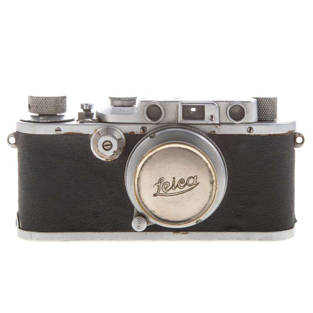 Lot 718: Leica III A Camera and Lens