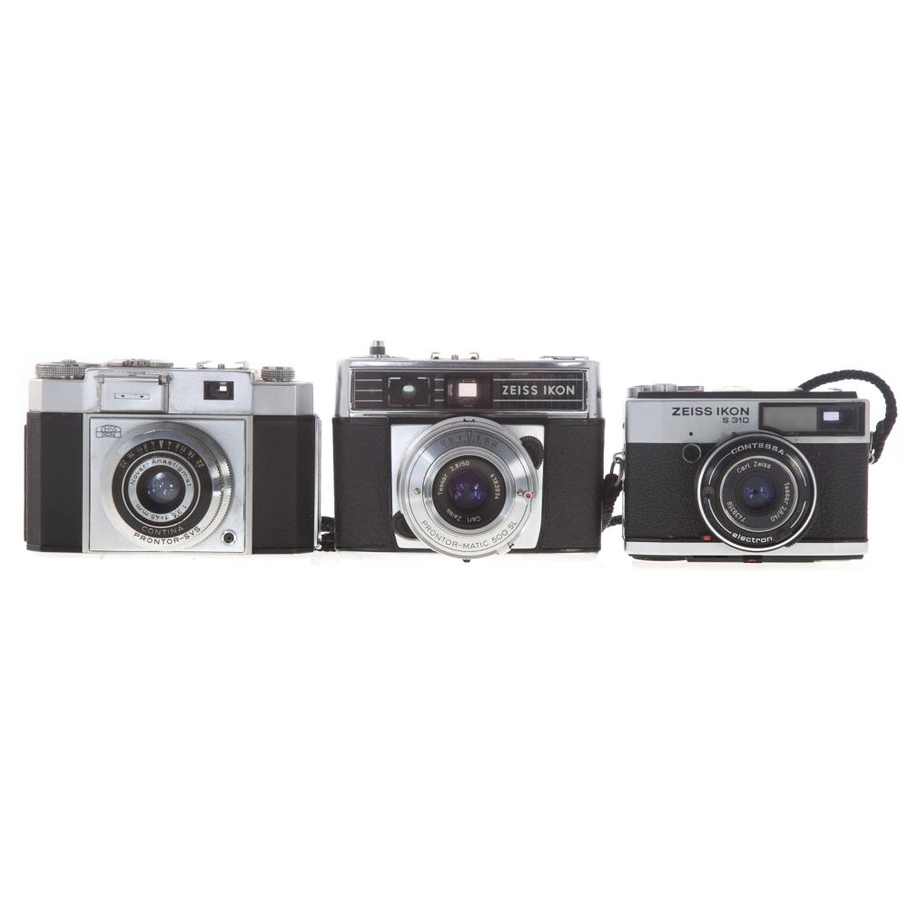 Lot 720: Three Zeiss Ikon Cameras