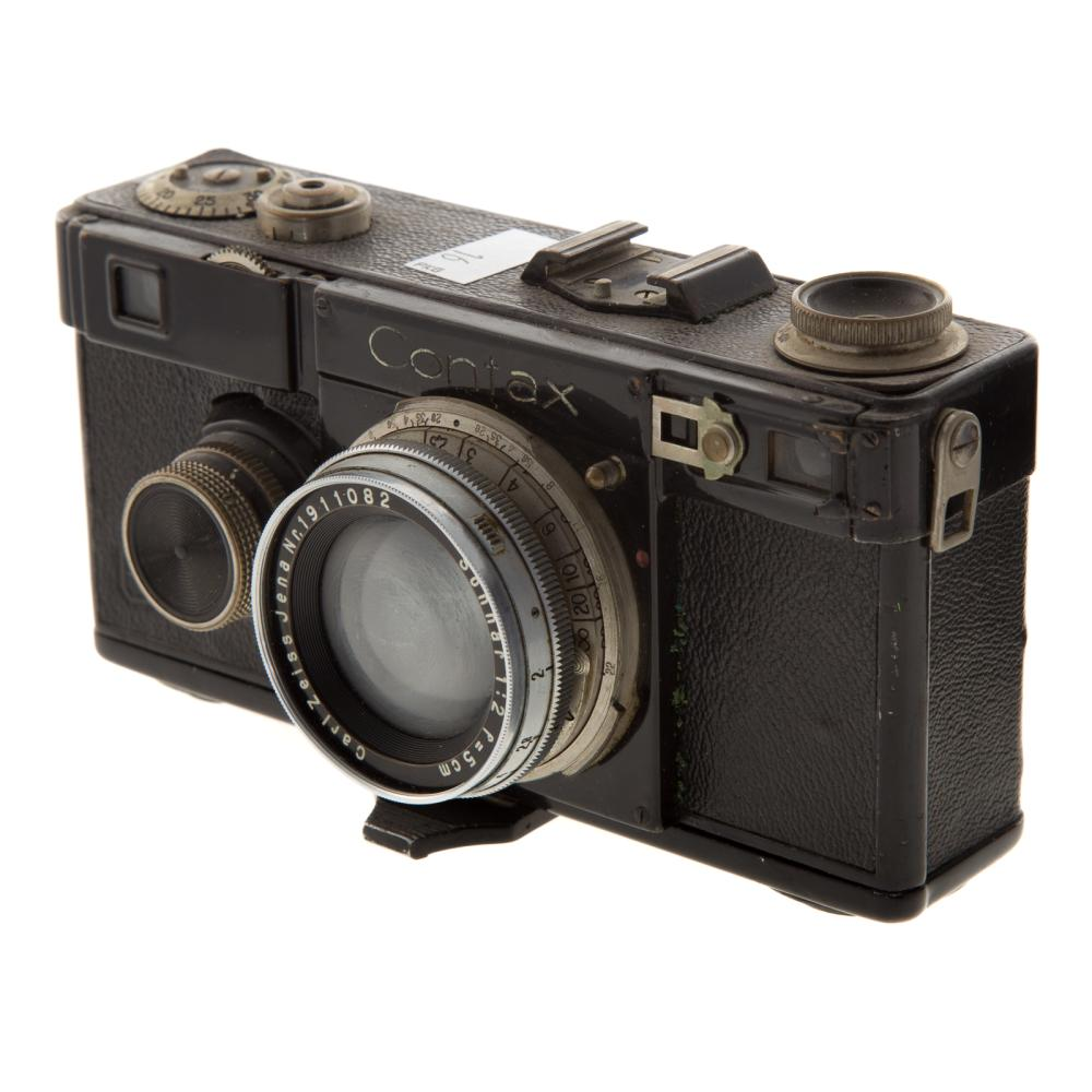 Lot 723: Two Zeiss Contax Cameras