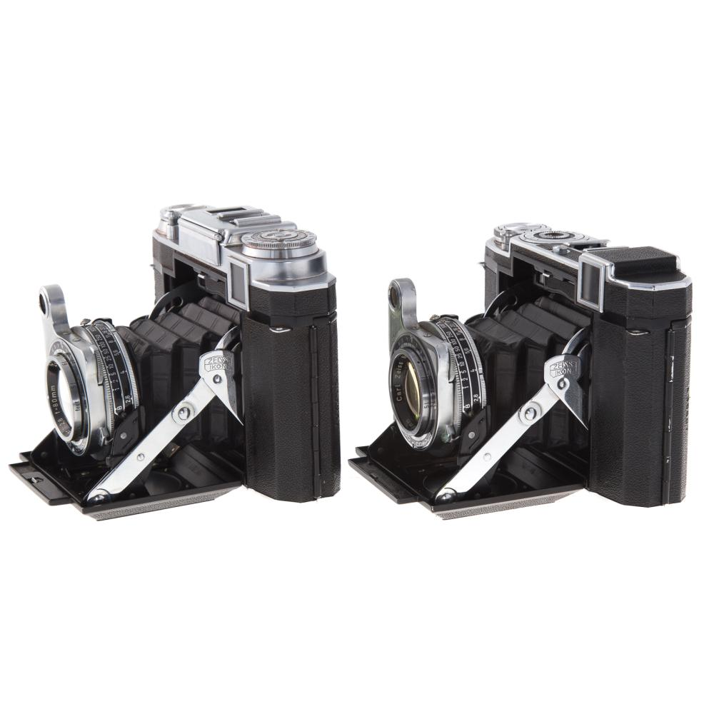 Lot 725: Two Zeiss Ikonta Bellows Cameras