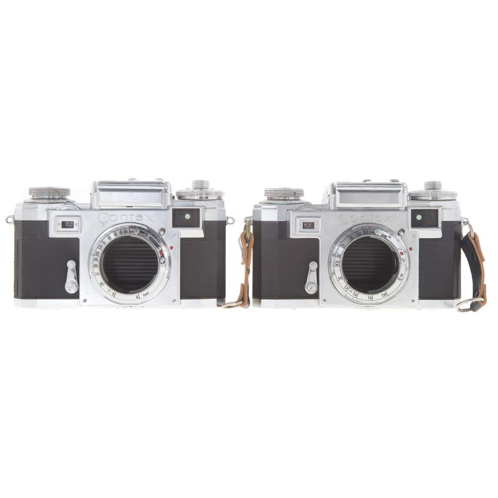 Lot 727: Two Zeiss Ikon Contax Camera Bodies