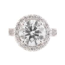 A 4.01 ct., D Color VS1 Clarity Diamond Ring