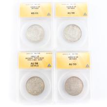 [World] British India Silver Rupee Set
