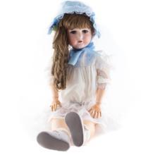 C.M. Bergmann large bisque & composition doll