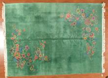 Antique Nichols Chinese carpet, approx. 8.7 x 11.5