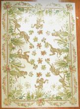 Needlepoint carpet, approx. 9 x 12