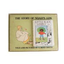 Books. Little Black Sambo and Noah's Ark