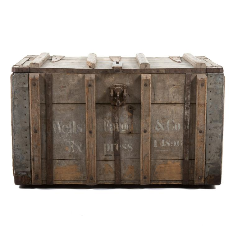 Wells Fargo Painted Strong Box
