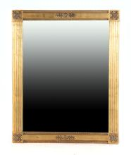 Contemporary Classical style giltwood mirror
