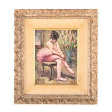 William Alexander Drake. Ballerina, oil on canvas