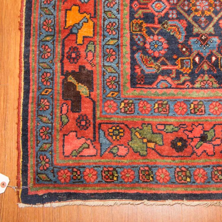 Antique bijar runner approx 4 2 x 16 for Alex cooper real estate auctions