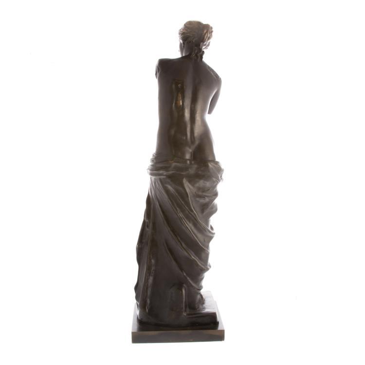 Venus de milo bronze for Alex cooper real estate auctions