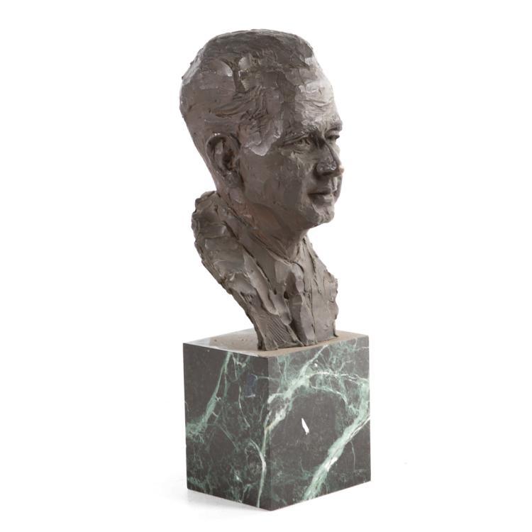 David ben gurion bronze bust for Alex cooper real estate auctions