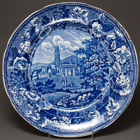 English staffordshire fonthill abbey pattern china dinner for Alex cooper real estate auctions
