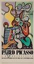 After Pablo Picasso, Spanish, 1881-1973, Pablo Picasso Retrospective Museum of Modern Art, 1980, color poster, 59 x 32 1/2 in., fram...