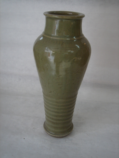 vase balustre du lonquan etroit a la base a epaulement arron. Black Bedroom Furniture Sets. Home Design Ideas