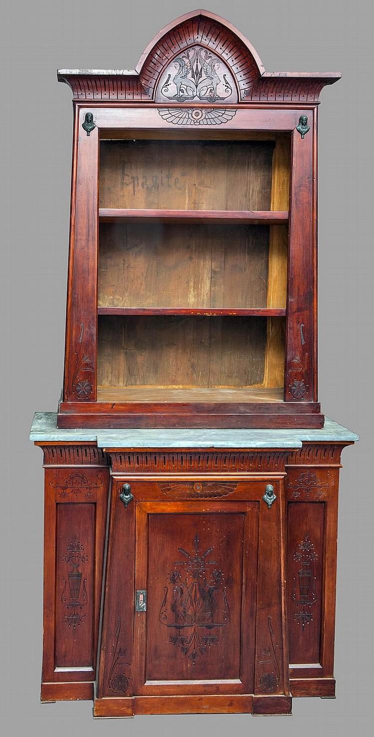 pietro savio alessandria 1838 1904 bibliotheque etroite a. Black Bedroom Furniture Sets. Home Design Ideas