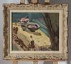 Jacqueline MARVAL (1866-1932)-La table fleurie - Huile sur toile, signee en bas a droite - 38 x46 cm, Jacqueline Marval, €800