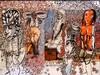 SOLY CISSE (1969) - Fecondites, 2015- Technique mixte sur papier - Signe et date en bas dans la marge laterale droite - 50x65cm, Soly Cisse, €1,000