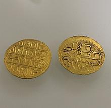EMPIRE OTTOMAN. MAHMUD I (1730-1754). Zeri Mahbud. EGYPTE. MUSTAFA III. Sequin. AH 1171. Or. Ens. 2 p. Presque Tres Beau.