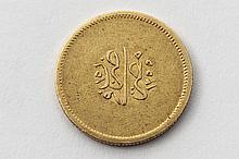 ABDUL MEJID (1839-1861). 100 piastres. (Fr. 5). Or. 8,40 g. Tres Beau