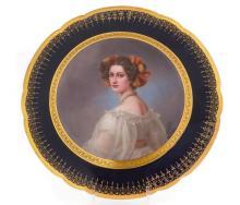 Franz Xaver Thallmaier, Munich cabinet plate