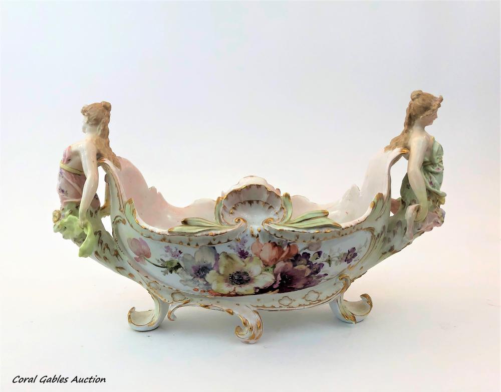 KPM porcelain centerpiece