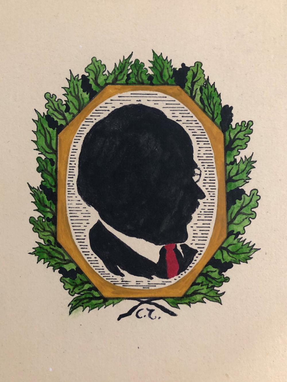 Sergey Vasil'evich Tchehonine (1878- 1936). Gouache, Ink, Watercolor on Paper.