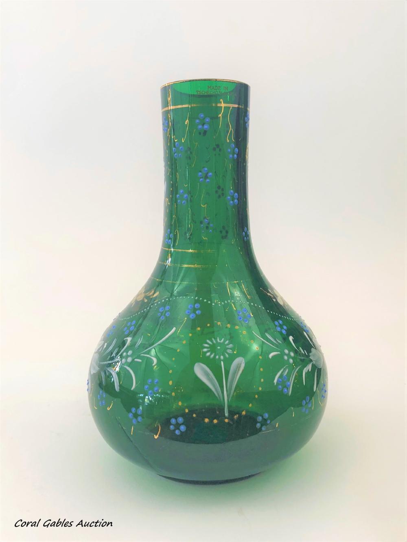 Hand Painted Flowe Vase