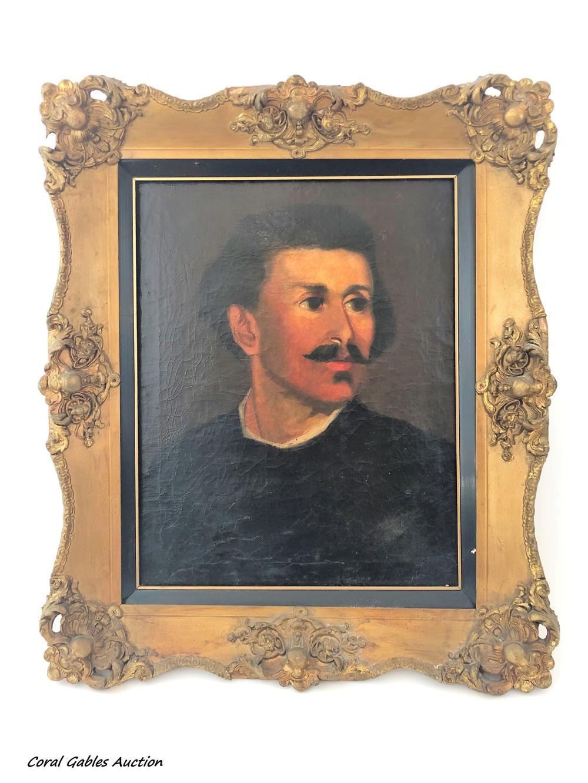 Portrait Painting. Oleo on Canvas.