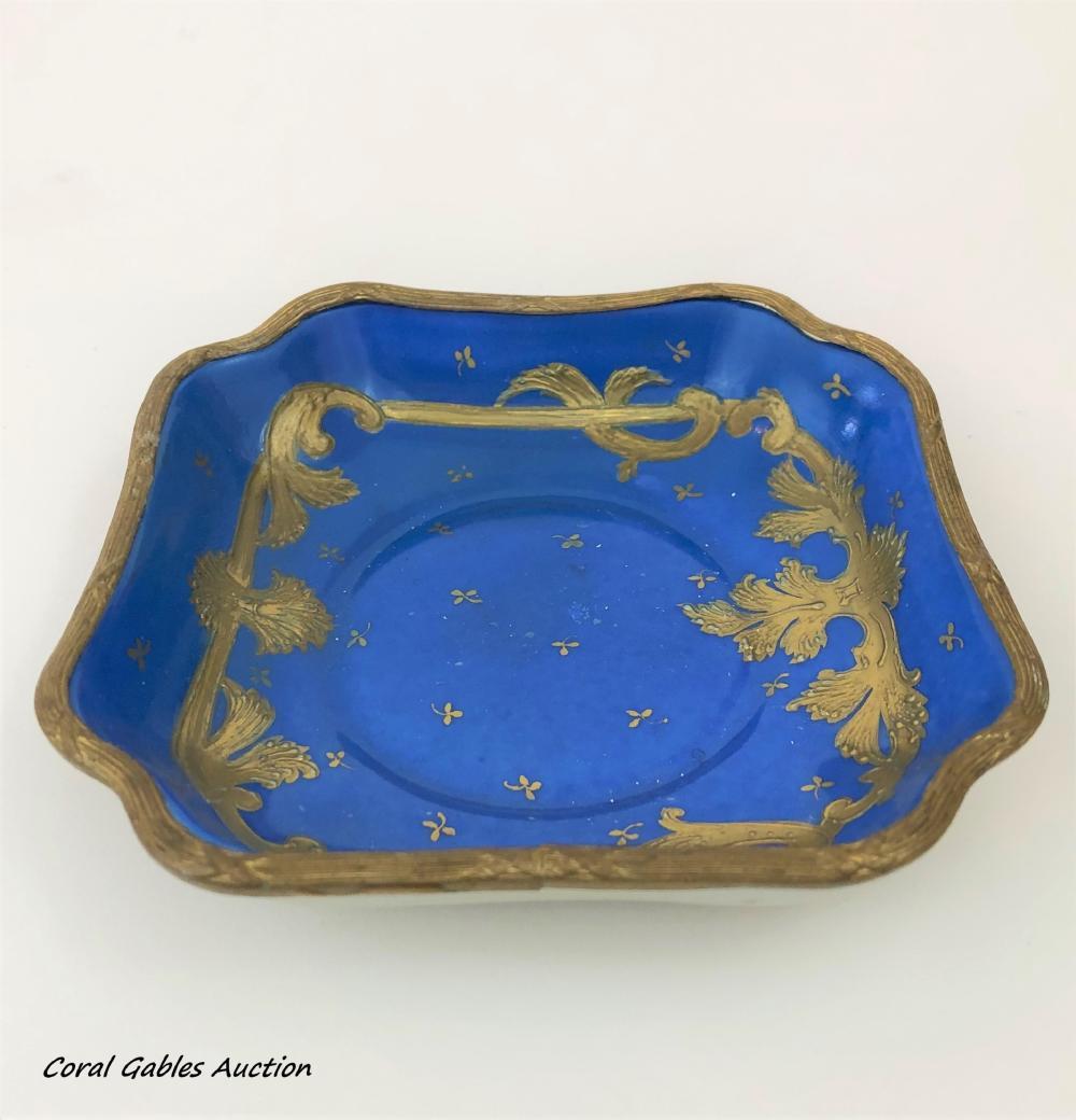 Antique sevre style ashtray