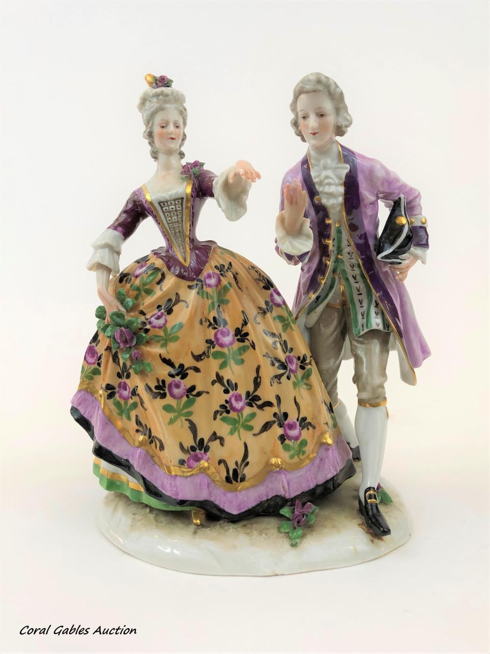 German Porcelain Figure
