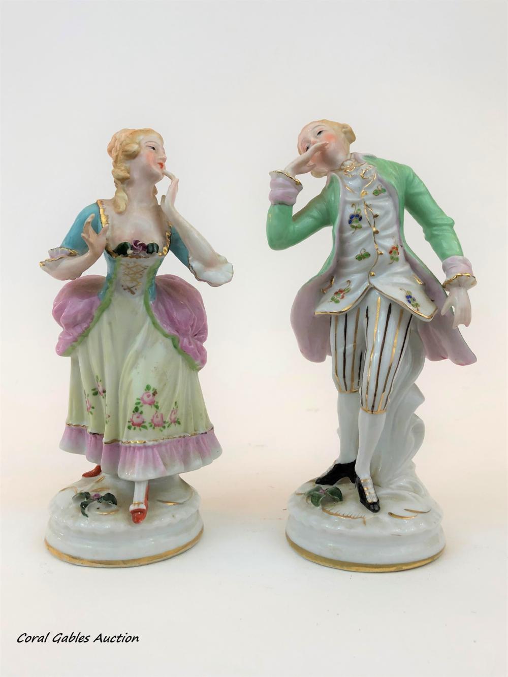 Klaus & Peter Muller Porcelain Figures