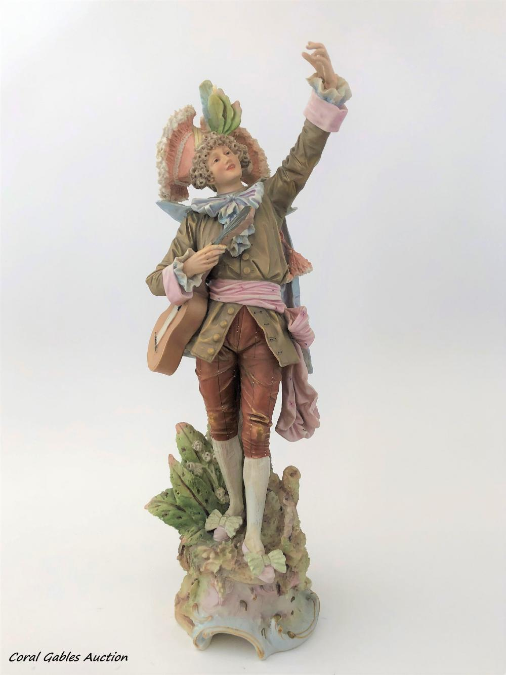 Royal Dux Bohemia Porcelain Figure
