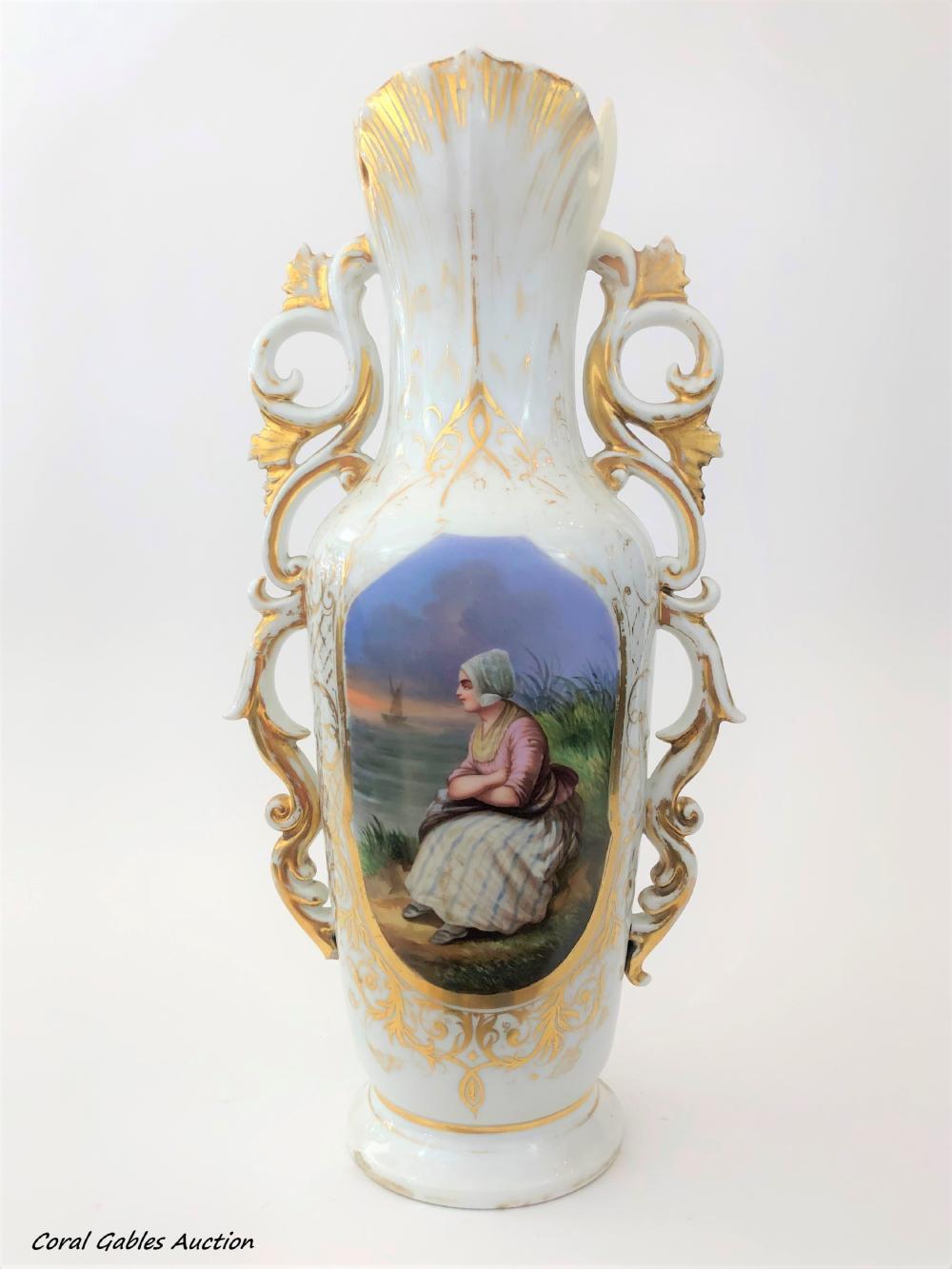 Old Paris Vase